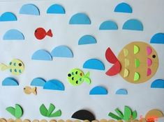 35 ideas to Make Creative Pictures with Paper Circles - Crazzy Craft Paper Folding Art, Diy Paper, Paper Crafts, Salt Art, Diy And Crafts, Crafts For Kids, Circle Crafts, Shapes For Kids, Origami And Kirigami