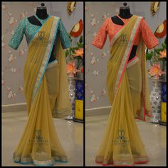 TS-SR- 300 301Available For orders/querieswhatu2019s app us on8341382382 orCall us @8790382382Mail us tejasarees@yahoo.comwww.tejasarees.com LikeNeverBefore Tejasarees Newdesigns icreate sareesStay Amazed!!Team Teja!! 12 September 2016