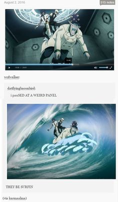 This is the greatest thing that had happen to this fandom #DGM #Allen #Earl #Tyki