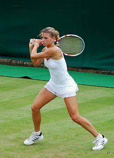 Camila Giorgi beats Sharapova, BNP Indian Wells 2014.