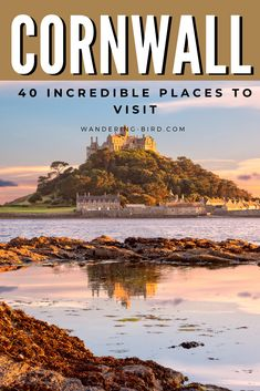 Cornwall, UK- 40 Incredible Things to do! Looking for the best places to visit in Cornwall? These 40 great places to see in Cornwall (with map!) will make your Cornwall road trip unforgettable! Key West Florida, Florida Keys, Cornwall England, Cornwall Map, Falmouth Cornwall, England Map, England Houses, St Ives Cornwall, Yorkshire England