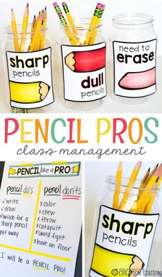 A Fun Way for Pencil Storage - Mrs. Jones Creation Station