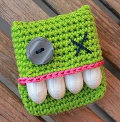 Hilarious monster tampon holder