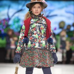Pretty floral Puff Dress by Boboli VeeAndJade online store Occassion / party / casual wear for girls