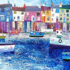 SImon Hart, Morning-Dittisham Quay