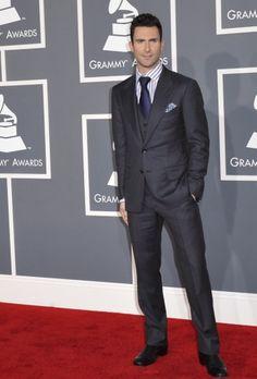 Adam Levine at the Grammys :)