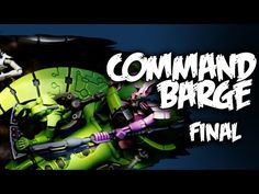 How to Paint [Necrons] Catacomb Command Barge 2/2 - YouTube