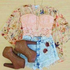 #vest #fashion #shorts