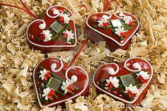 Licitar - Croatian traditional sweet warm hearts