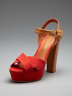 dd24858c5a75 GA GA GORGEOUS Neysa Sandal by Pour La Victoire on Gilt.com Fall Shoes