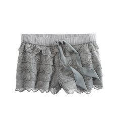 Aerie Lacey Sleep Short - so cute and SO comfortable!! love these -- purchased them in the white too :)
