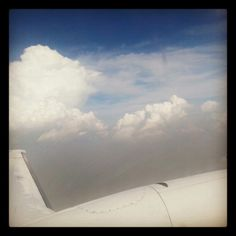 Clouds #fluffy #travel #plane Travel Plane, Airplane View, Clouds, Instagram, Cloud