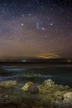 Taba - Sinai Egypt The clear sky with the stars at night are undesirable