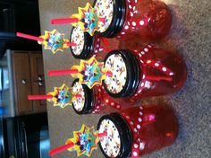 Mickey Mouse favor drink mugs