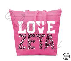 Tote - LOVE ZETA Leopard
