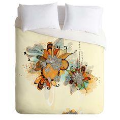 DENY Designs Housse de couette coucher de soleil léger de Iveta Abolina