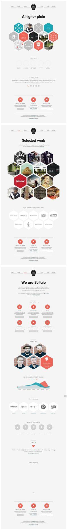 Build by Buffalo #flat #design #interface