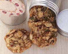 Nuss-Cookies (ohne Ei) - smarter - Zeit: 35 Min. | eatsmarter.de