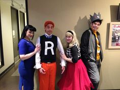 archie group cosplay