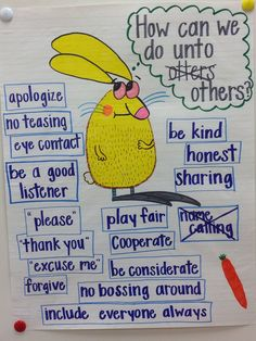Do Unto Otters anchor chart