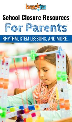 School closure resources for parents, including STEM activities for elementary school students, advice on schedules and routines, homeschooling and more. Find out how to have a positive family experience even when school's closed! Educational Activities, Learning Resources, Toddler Activities, Preschool Activities, Parent Resources, Science Experiments Kids, Science For Kids, Teaching Kids, Kids Learning