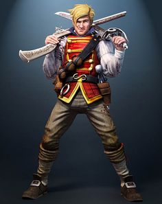 Ben Finn concept art from Fable III. Character Concept, Concept Art, Character Design, Video Game Art, Video Games, Fable 2, Saints Row, Cartoon Games, Indie Games