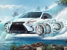 LexusFly by Alexey Starodumov