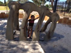 Walter Padbury Playground, Thornlie - Buggybuddys guide for families in Perth Perth Western Australia, Dinosaurs, Playground, Places To See, Westerns, To Go, Elephant, Park, Animals
