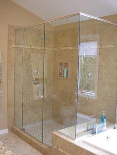 Best Bathrooms Images On Pinterest Bath Design Bathroom - 4 x 6 tile shower