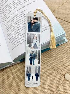 Personalized Bookmark Custom Bookmark Photo Bookmark Personalized Gift Readers gift Gift for Mom Metal Bookmark Fab Five Bookmark Photo Bookmarks, Custom Bookmarks, Personalized Bookmarks, Bookmarks Kids, How To Make Bookmarks, Personalized Gifts, Custom Gifts, Presents For Him, Presents For Boyfriend