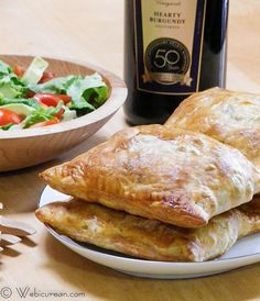 Beef Burgundy in Puff Pastry #SundaySupper #HBTurns50 | Webicurean