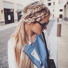 #braids #doublebraid