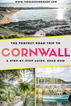 Cornwall Road Trip: Things to do on the Perfect British Escape Cornwall, England is a beautiful travel destination. Here's the ultimate Cornwall itinerary with things to do in Cornwall. Beaches, food, incredible landscapes and history – don't miss it! Places To Travel, Travel Destinations, Places To Go, Backpacking Europe, Travel Europe, London Eye, Brighton, Sightseeing London, Things To Do In Cornwall
