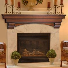 fireplace mantels shelfves pictures | Home / Home Accents / Auburn Fireplace Mantel Shelf