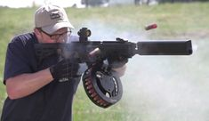 While there have been no official tests on the matter, the Fostech Origin 12 may be a contender for one of the fastest semi-automatic shotguns out there. True, the practicality of a high-speed shotgun may be dubious—hence the relative scarcity of full-auto shotguns like the AA-12—but this slug thrower shoots like a beast.