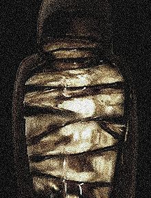 Mellified man, or human mummy confection, was a legendary medicinal substance created by steeping a human cadaver in honey. The concoction is mentioned only in Chinese sources, most significantly the Bencao Gangmu of the 16th-century Chinese pharmacologist Li Shizhen. Relying on a second-hand account, Li reports a story that some elderly men in Arabia, nearing the end of their lives, would submit themselves to a process of mummification in honey to create a healing confection.