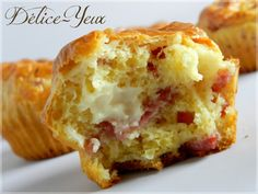 Muffins Bacon  Vache qui rit ® - Délice-Yeux, l'univers gourmand de Marine