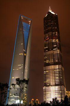 10 Tallest Buildings in The World - Shanghai World Financial Center