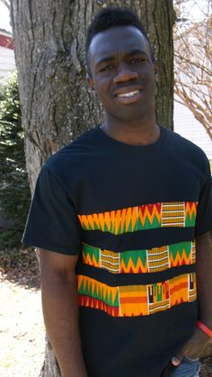 African Print T shirt African Print Tribal Print by Shipella African Inspired Fashion, African Print Fashion, African Fashion Dresses, African Attire, African Wear, African Dress, African Print Shirt, African Shirts, Boys Clothes Style