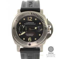 Panerai Luminor Submersible Gents Titanium Automatic Watch