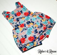 Check out this item in my Etsy shop https://www.etsy.com/listing/492296606/ash-and-roses-romper-floral-romper-baby