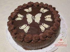 Csokis tejszínes torta