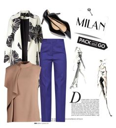 """""""pack & go: Milan"""" by janicevc on Polyvore featuring Anja, MSGM, Jason Wu, women's clothing, women, female, woman, misses and juniors"""