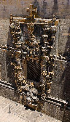 Convento de Christo: Manueline window