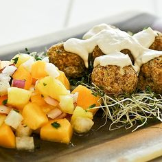 Raw, vegan falafel? You bet. And boy are they delicious. Get you fix without frying or oil. And they are loaded with nutrients.