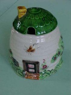 Cottageware Beehive Honey Pot
