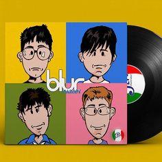Music Parodies Collection Vol.15 Blur -  The Best of  #inktober #inktober2016 #blur #damonalbarn #coverlp #parody #caricature #britpop #gorilaz #julianopie #love #instadaily #instagood #summer#me #instagramhub #tbt #follow#cute #iphoneonly #photooftheday #igdaily #instamood #bestoftheday #iphonesia#picoftheday #igers#girl #tweegram #vinylrecords
