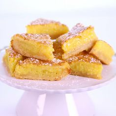 the chew | Carla Hall - Triple Lemon Bars with Shortbread Crust