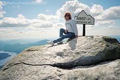 Whiteface Mountain, NY - I have a picture of my daughter and me in this very spot.
