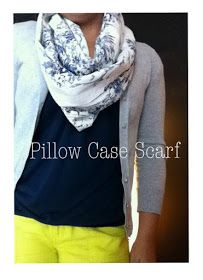 The Fantesstic Life: The Pillow Case Scarf